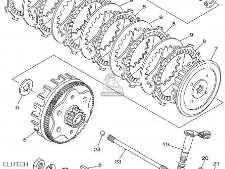 Yamaha XT225 XT225C 2002 (2) USA CALIFORNIA parts lists