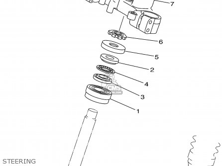 Yamaha Xt225 Xt225c 2002 (2) Usa California parts list