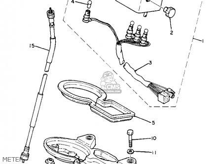 Yamaha Xt250 Dual Purpose 1982 (c) Usa parts list