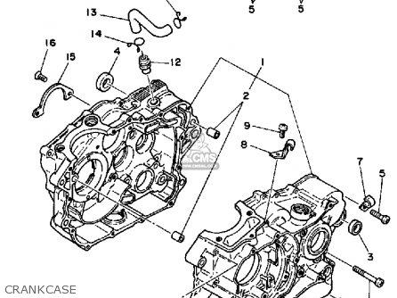 Yamaha XT250 DUAL PURPOSE 1983 (D) USA parts lists and
