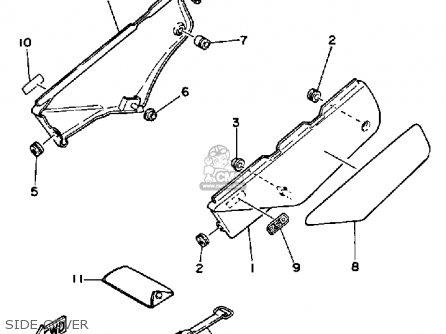 Yamaha Xt250 Dual Purpose 1984 (e) Usa parts list