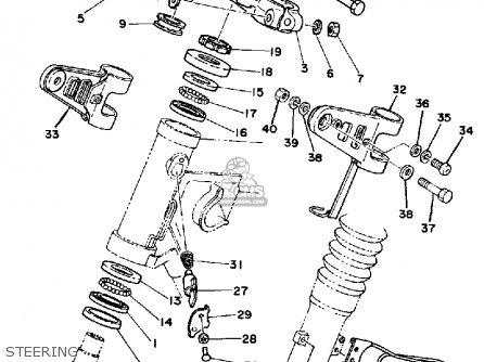 Yamaha XT250C DUAL PURPOSE 1983 (D) CALIFORNIA parts lists