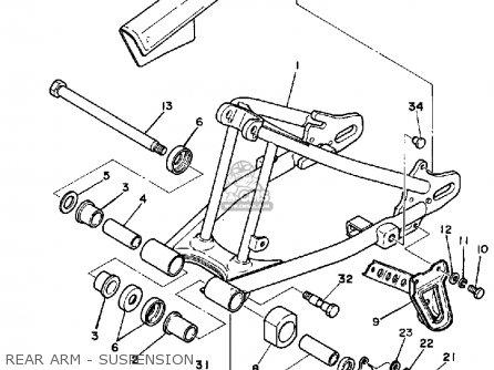 Yamaha Xt250kc Dual Purpose 1983 parts list partsmanual