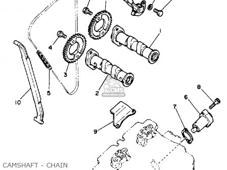Yamaha Xt350 Dual Purpose 1989 (k) Usa parts list