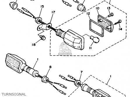 Yamaha Xt350 Dual Purpose 1992 (n) Usa parts list