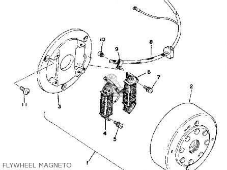 Yamaha Xt500 1976 Dual Purpose Usa parts list partsmanual