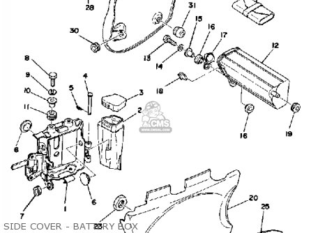 1976 Yamaha 500 Xt Wiring Diagram Yamaha XT 500 Parts