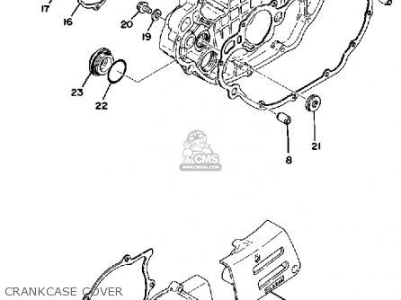 Yamaha XT500 1977 DUAL PURPOSE USA CANADA parts lists and