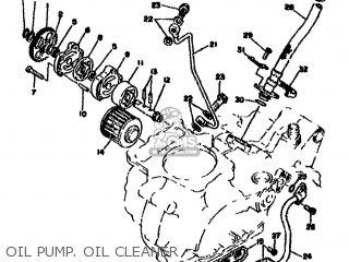 Yamaha XT500 1978 1U6 EUROPE 1U628-198E5 parts lists and