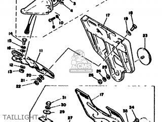 Yamaha Xt500 1978 1u6 Europe 1u628-198e5 parts list