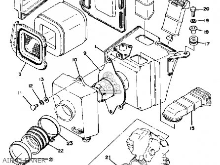 Yamaha Xt500 1978 Dual Purpose Usa parts list partsmanual