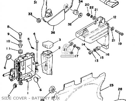 Wiring Diagram Yamaha Fz 750 Yamaha 250 Wiring Diagram