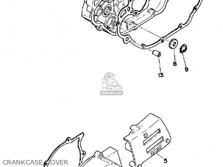 Yamaha Xt500 1980 Dual Purpose Usa parts list partsmanual