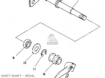 Yamaha Xt500 1981 Dual Purpose Usa parts list partsmanual