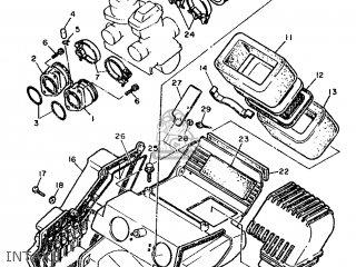 Yamaha XT500 1986 55A AUSTRIA 2655A-362E1 parts lists and
