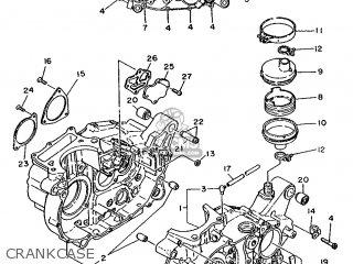 Yamaha XT500 1988 3BH2 AUSTRIA 283BH-300E1 parts lists and