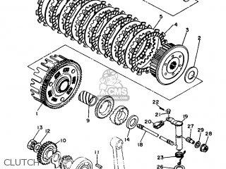 Yamaha XT500 1989 3ST1 FRANCE 293ST-351F1 parts lists and