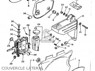 Yamaha Xt500 1989 3st1 France 293st-351f1 parts list