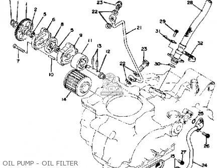 Yamaha Xt500e Dual Purpose 1978 parts list partsmanual