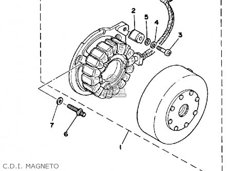 Yamaha Xt500g Dual Purpose 1980 parts list partsmanual
