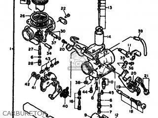 Yamaha Xt550 1982 5y3 Europe 225y3-300e1 parts list