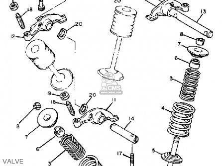 Yamaha Xt550j Dual Purpose 1982 parts list partsmanual