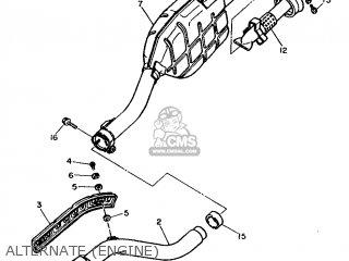 Yamaha XT600 1986 43F EUROPE 2643F-300E1 parts lists and