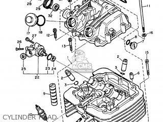Yamaha Xt600 1986 43f Europe 2643f-300e1 parts list