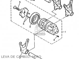 Yamaha XT600 1987 2KF SPAIN 272KF-352S2 parts lists and