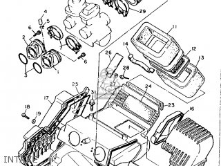 Yamaha Xt600 1989 3pw1 France 293pw-351f1 parts list