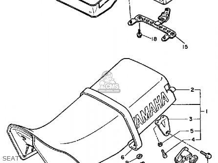 Yamaha XT600 DUAL PURPOSE 1984 (E) USA parts lists and