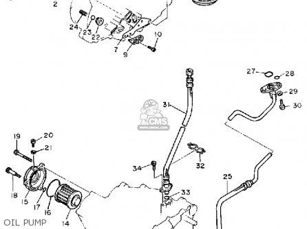 Yamaha XT600 DUAL PURPOSE 1986 (G) USA parts lists and