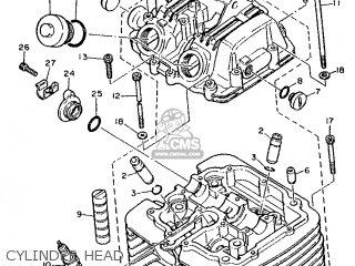 Yamaha XT600E 1990 3BT2 SPAIN 203TB-352S1 parts lists and