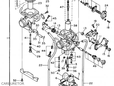 Yamaha XT600E 1990 (L) USA parts lists and schematics