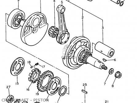 Yamaha Xt600e 1991 (m) Usa parts list partsmanual partsfiche