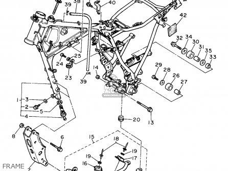 Yamaha XT600E 1993 (P) USA parts lists and schematics
