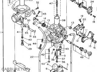 Yamaha Xt600e 1994 (r) Usa parts list partsmanual partsfiche