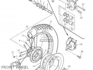 Yamaha XT600E 2002 4PTB FRANCE 1A4PT-351F1 parts lists and