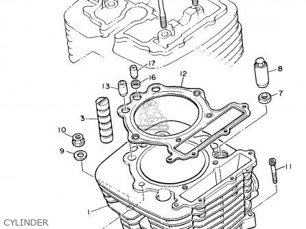 Yamaha XT600EC 1991 (M) CALIFORNIA parts lists and schematics