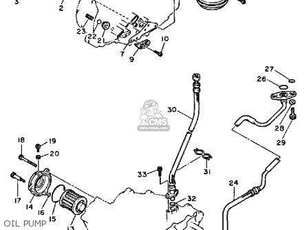 Yamaha Xt600n Dual Purpose 1984/1985 parts list