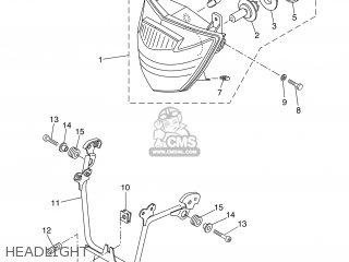 Yamaha XT660R 2004 5VK1 BELGIUM 1C5VK-300E3 parts lists