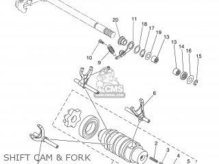 Yamaha XT660R 2004 5VK1 BELGIUM 1C5VK-300F3 parts lists
