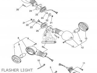 Yamaha XT660X 2007 10S1 GREECE 1F10S-300E1 parts lists and