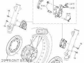 Yamaha XT660Z 2009 11D2 EUROPE TENERE 1H11D-300E1 parts