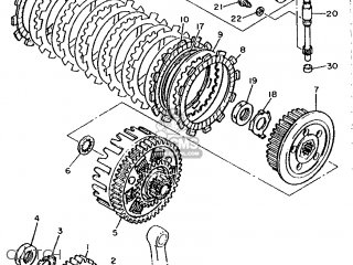 Yamaha XTZ660 1991 3YF1 EUROPE 213YF-300E1 parts lists and