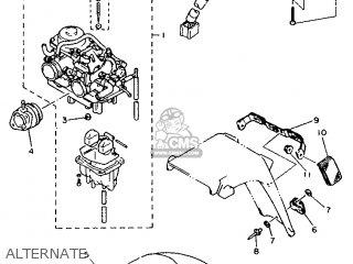Yamaha Xtz660 1991 4bw1 Austria 213yf-300e1 parts list