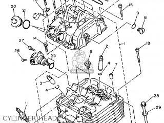 Yamaha XTZ660 1991 4BW1 SWITZERLAND 213YF-300E1 parts