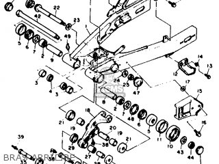 Yamaha Xtz660 1993 3yf7 France 233yf-351f3 parts list