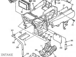 Yamaha XTZ660 1993 3YF7 FRANCE 233YF-351F3 parts lists and