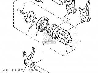 Yamaha XTZ660 1996 4MY3 ENGLAND 264MY-300E1 parts lists